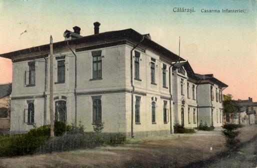 Cazarma regimentului 23 din Călărași a fost construită în anul 1880