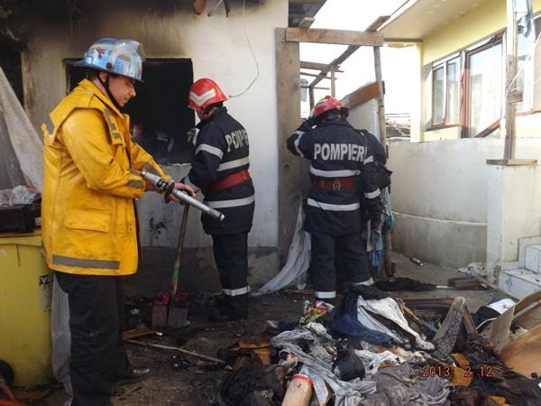 VIDEO: Incendiu cu o victimă în Călărași
