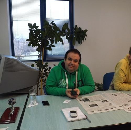 Marius Gavrilă, inițiatorul Mix Music Evolution a fost oaspetele ziarului, Actualitatea de Călărași
