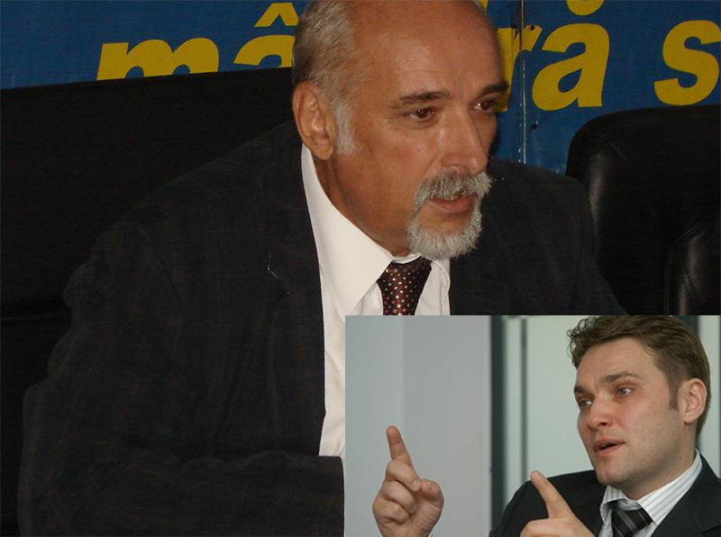 """Filipescu versus Dan Şova: """"Pisica n-a fost lăsată să viseze"""""""