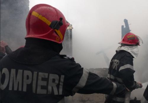 Incendiu la Spitalul Județean Călărași