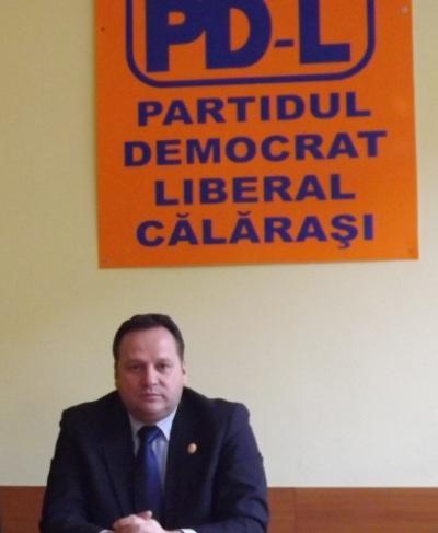 V. Iliuță: PDL Călărași i-a retras sprijinul politic consilierului local, Vasile Dumitrache.
