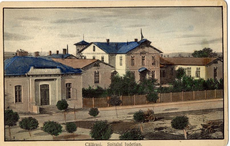 1887-1888 se ridică clădirea Spitalului Județean