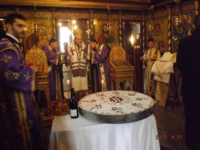 Mânăstirea Plătăreşti a fost resfinţită de Episcopul Sloboziei şi Călăraşilor