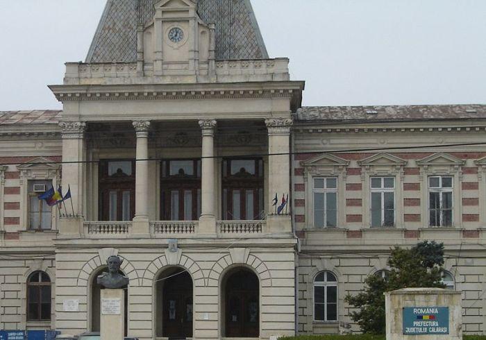 Palatul Administrativ al județului Călărași ruinat de nepăsarea autorităților guvernamentale