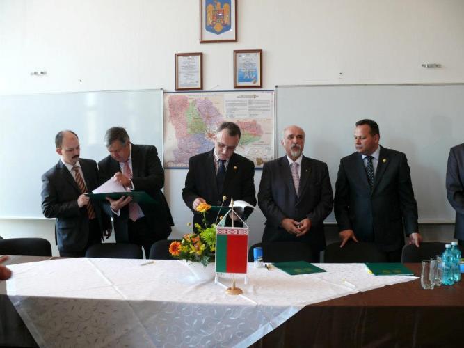 Firma Traktor Belarus a oferit un tractor U.S.A.M.V  București – Filiala Călărași