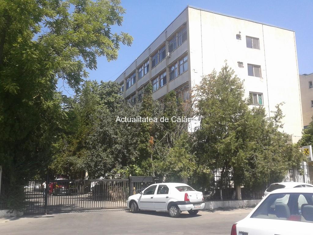 Reţeaua de apă a Spitalului Judeţean Călăraşi intră în reparaţii capitale