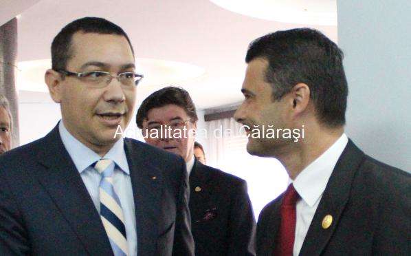 Deputatul Daniel Florea alături de premier, la Ziua Justiției