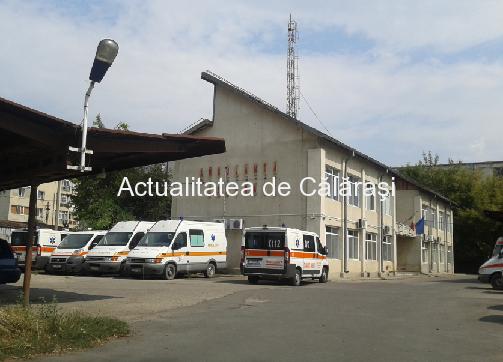 Serviciul Judeţean de Ambulanţă Călăraşi se desfiinţează