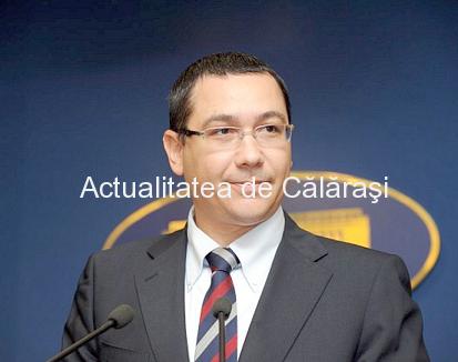 Victor Ponta și 3 miniștri, așteptați joi la Călărași