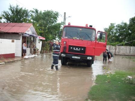 Gospodării afectate grav de precipitații, în municipiul Călărași