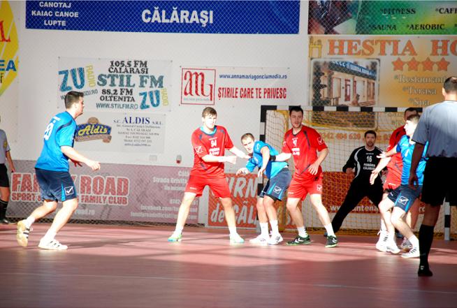 Joi, meci de handbal la Călărași/ Jandarmeria asigură ordinea publică