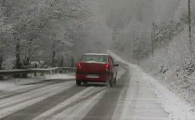 Drumuri închise, în judeţul  Călăraşi, luni 27 ianuarie