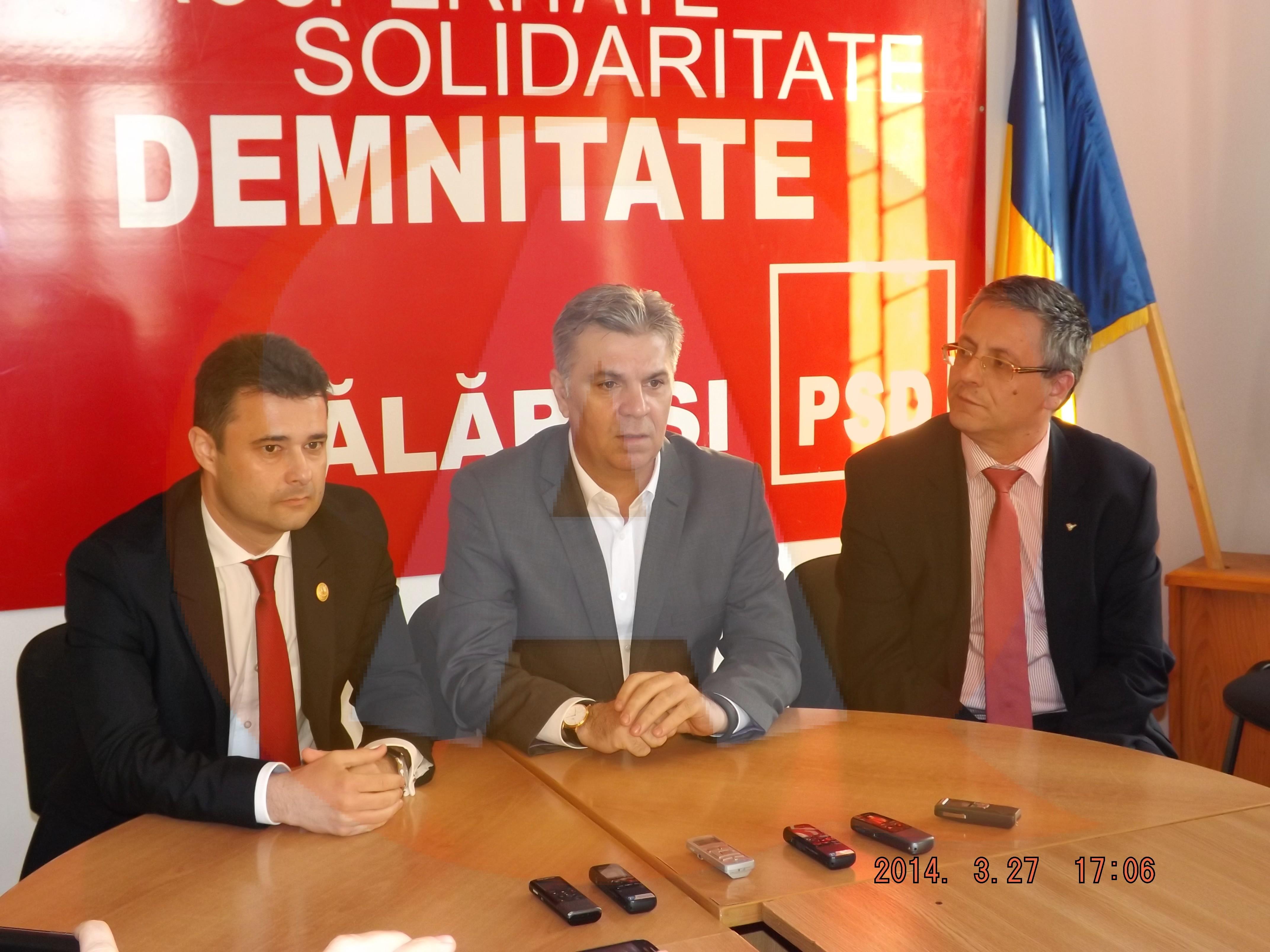 """Valeriu Zgonea visează la şansele PSD în Călăraşi: """"Ţinta la europarlamentare este de 35-40%"""