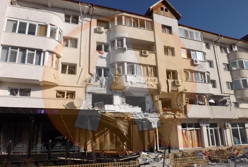Ultimă oră: Guvernului i-a fost solicitat ajutorul pentru refacerea blocului explodat la Călăraşi, de Crăciun