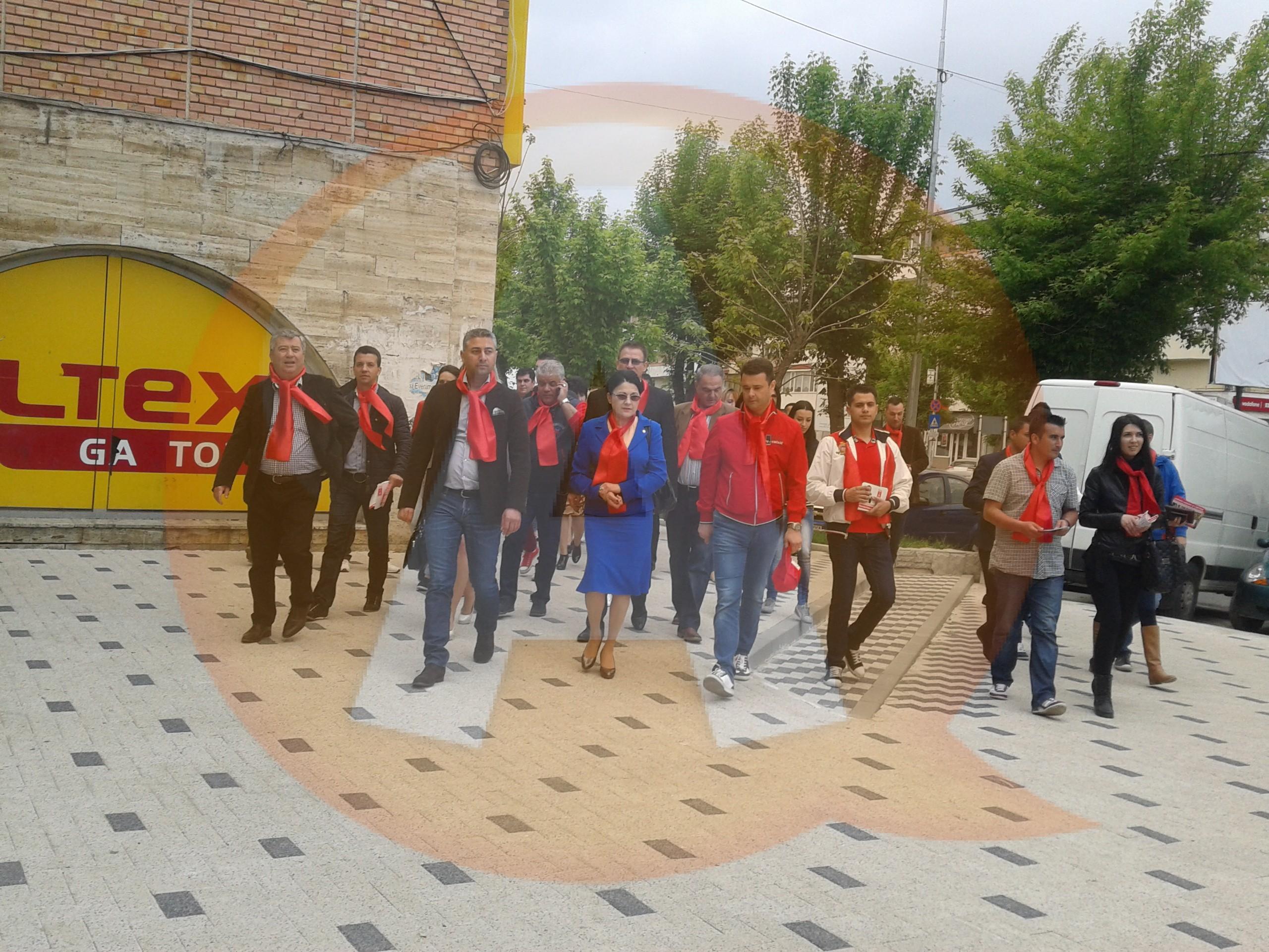Ecaterina Andronescu a dat startul campaniei electorale PSD la Călăraşi