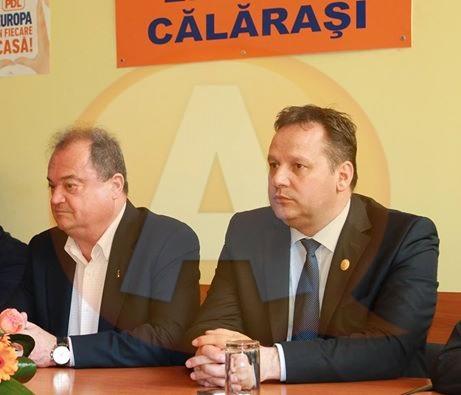 Vasile Blaga vine la constituirea Consiliului Județean Călărași