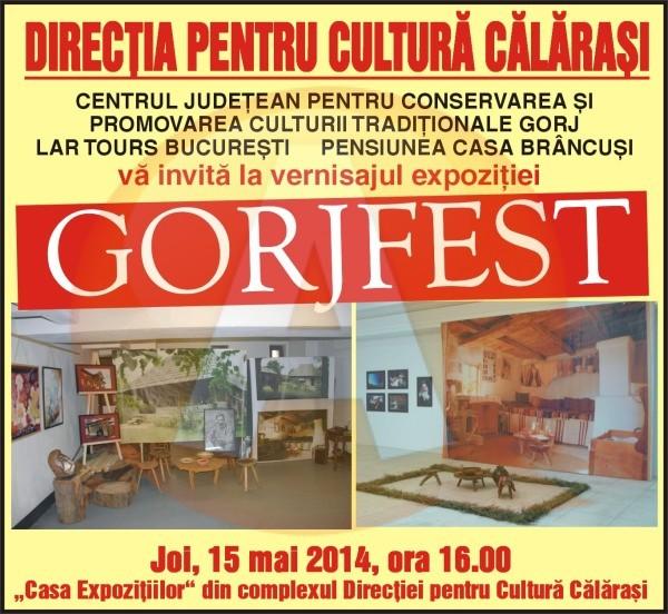 Pentru prima dată retrospectiva Festivalului GORJFEST, la Călăraşi