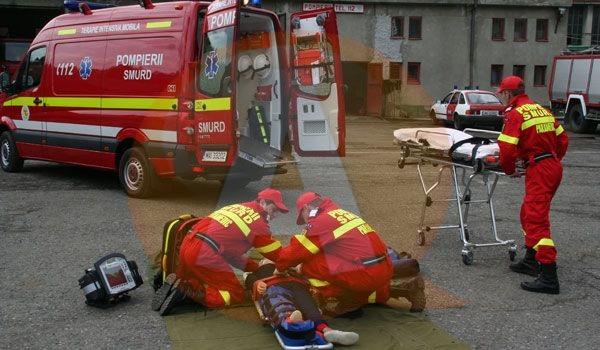 Motociclist rănit grav în urma unui accident rutier