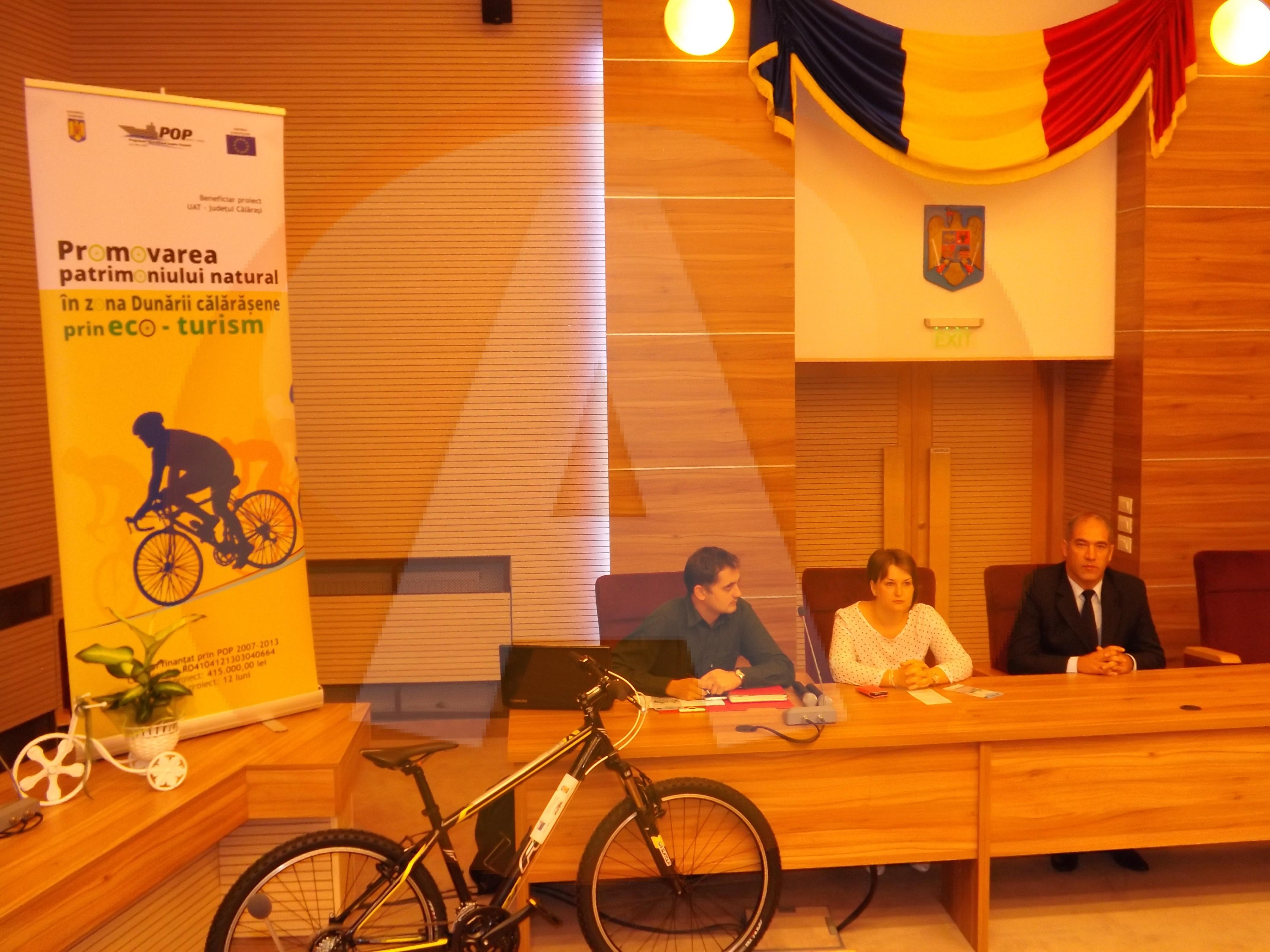 Călărașiul se va afla pe lista traseelor de cicloturism, de la nivel naţional