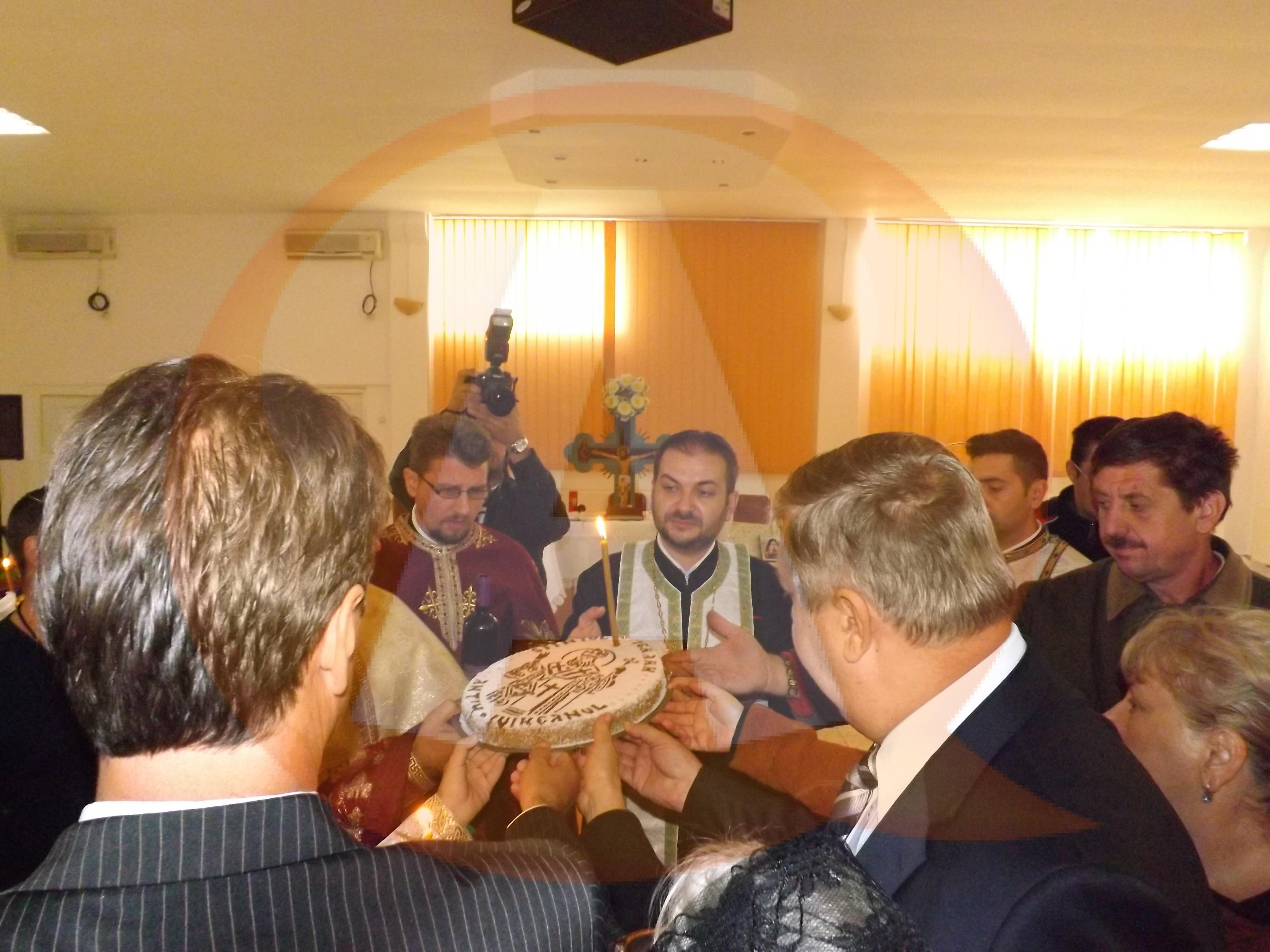 Căminul de Bătrâni, din Călărași, a sărbătorit ziua Sfântului Antim Ivireanu