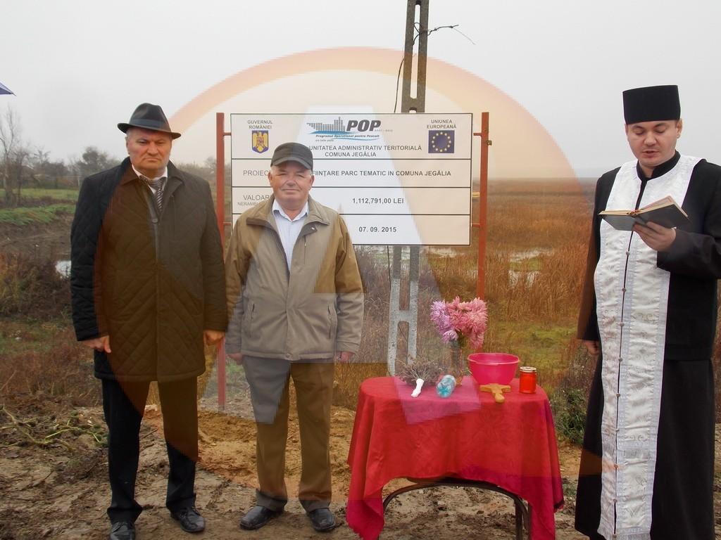 La Jegălia va fi construit un parc tematic