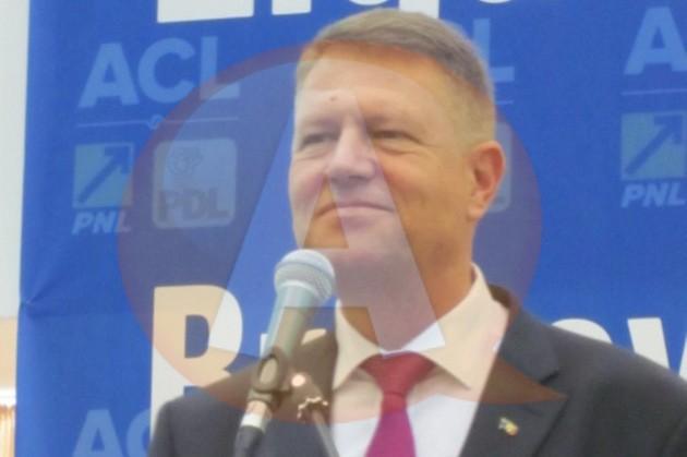 ACL Călăraşi organizează un marș electoral de susținere a lui Klaus Iohannis