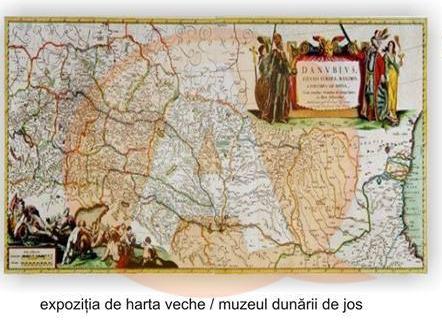 Dunărea şi Călăraşiul în cartografia veche