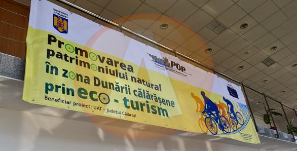 """Proiectul """"Promovarea patrimoniului natural în zona Dunării Călăraşene prin eco-turism"""" a ajuns la final"""