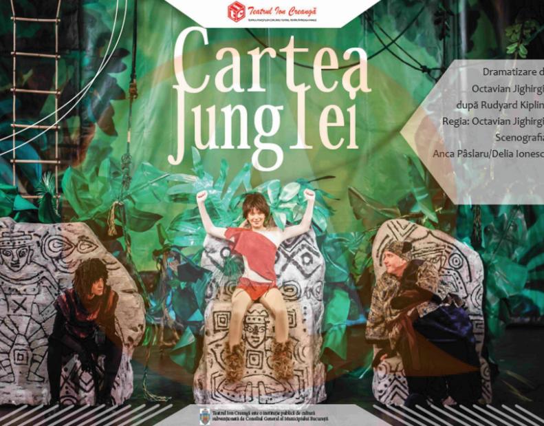 """Piesa de teatru pentru copii """"CARTEA JUNGLEI"""" revine la Călărași"""