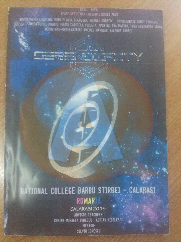 Numele Colegiului Barbu-Știrbei Călărași a ajuns la festivitatea de premiere a concursului de proiecte spațiale, din Canada