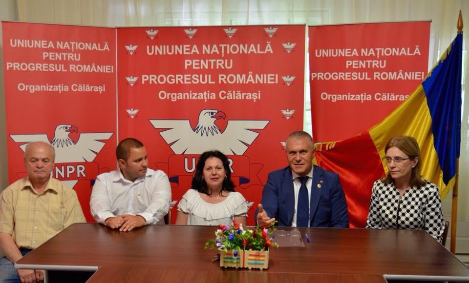 Ziua Drapelului Național marcată de UNPR Călărași