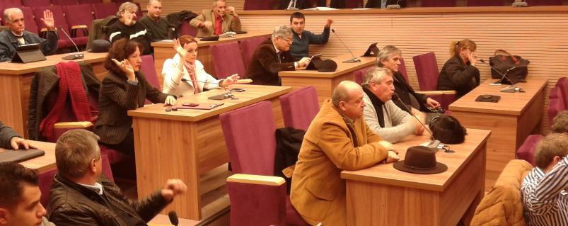 Locurile vacante de consilieri județeni au fost completate, în ședința ordinară a C.J.C.
