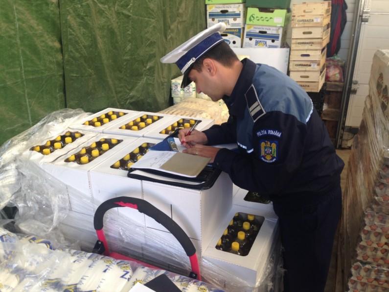 În week-end, polițiștii călărășeni au verificat 265 de societăţi comerciale