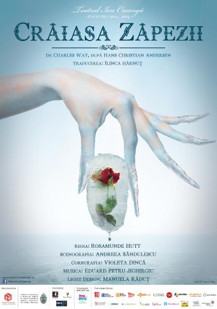 """Spectacolul de teatru pentru copii """"CRĂIASA ZAPEZII"""""""