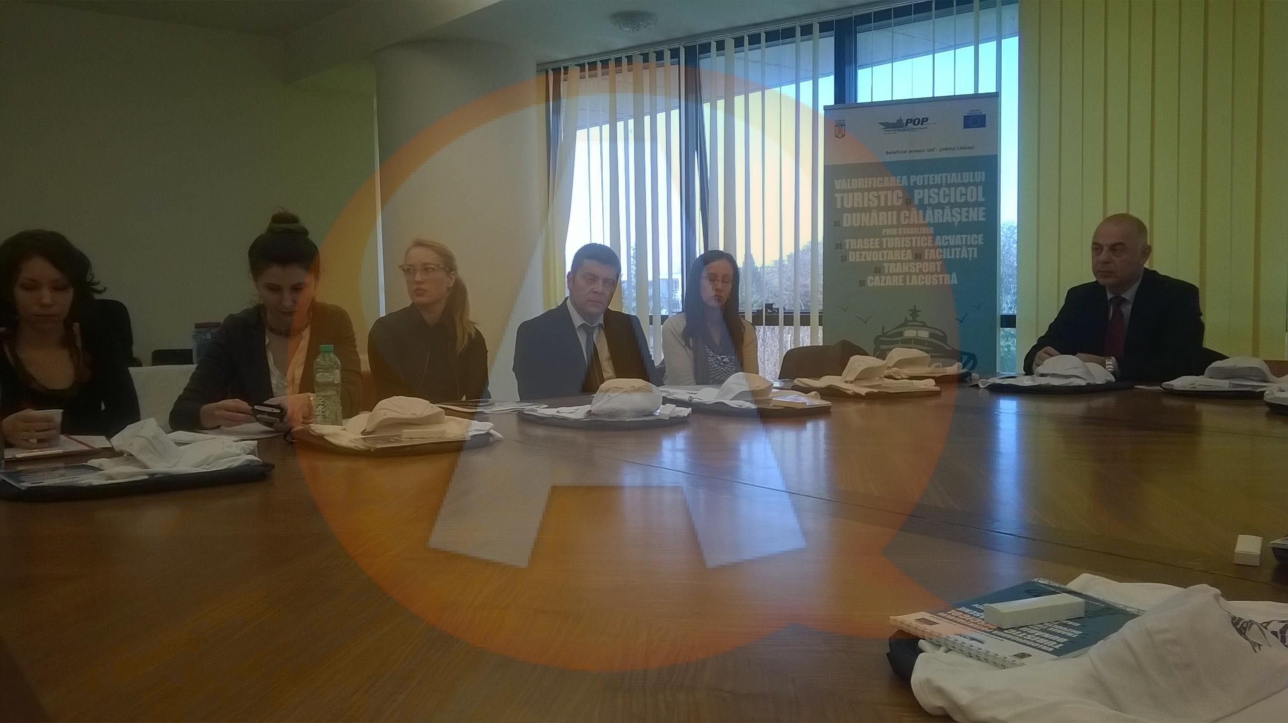 """Workshop ,,Soluţii pentru dezvoltarea turistică a judeţului Călăraşi"""""""