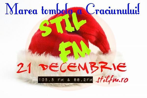 """La Radio ZU/STIL FM, a avut loc extragerea premiilor la """"TOMBOLA DE CRĂCIUN"""""""