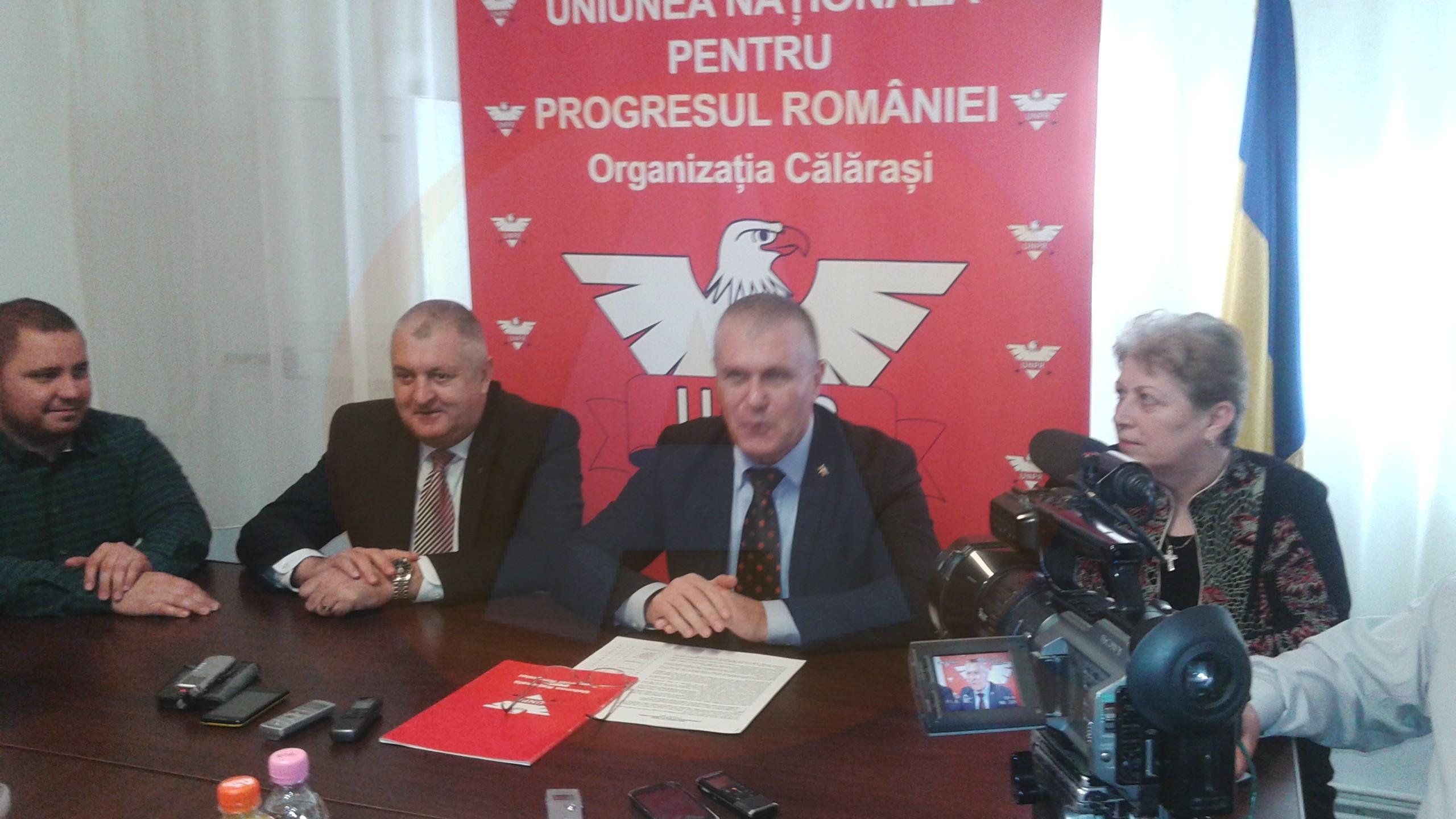 Declarația președintelui UNPR Călărași, Aurel Niculae, despre posibila plecare a primarului Drăgulin, din partid
