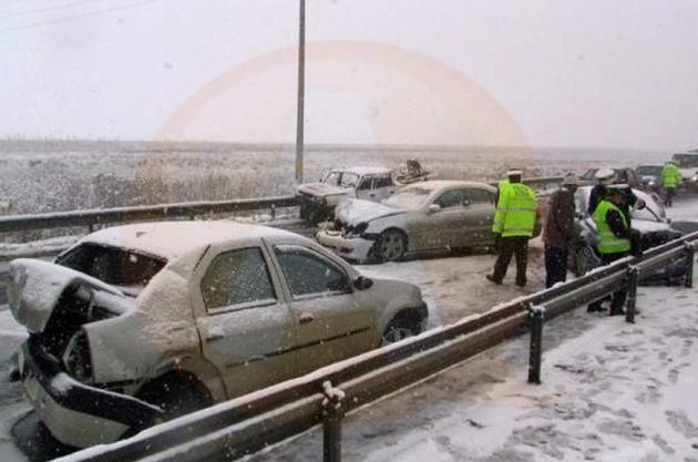Pot exista pericole pentru circulaţia rutieră!