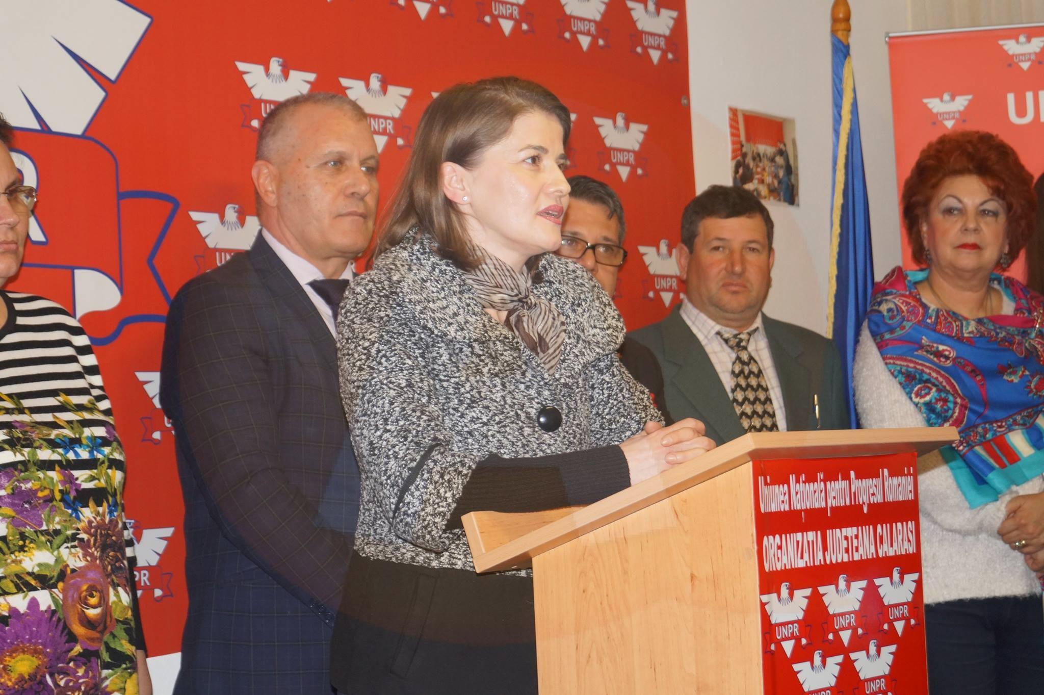 UNPR/ Elena Nicolache, prima femeie candidat la Primăria Călărași