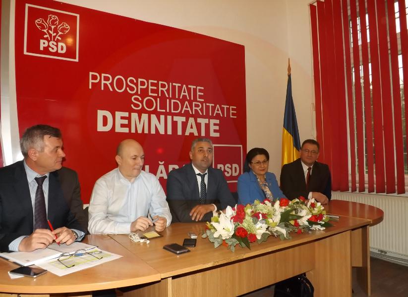 """PSD Călărași/Marius Dulce: """"Îmi propun câștigarea Primăriei și o echipă cu 11 consilieri locali!"""""""