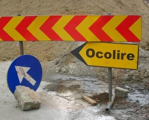 Ecoaqua/ Informare privind întreruperea traficului rutier, în municipiul Călărași