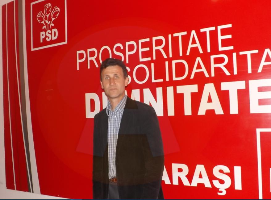 """Candidatul PSD la Primăria comunei Șoldanu: """"Mă bazez pe echipa mea"""""""