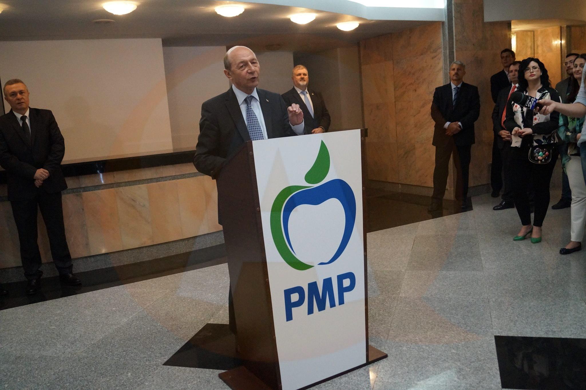 Duminică, Traian Băsescu i-a deranjat pe PMP-iștii călărășeni