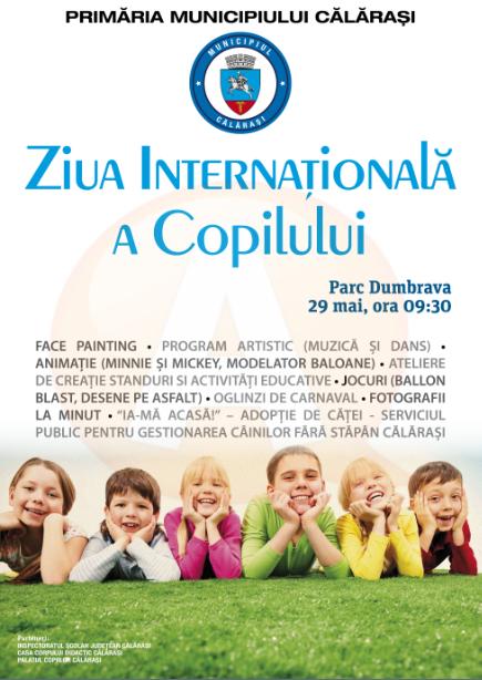 În week-end, sunteți așteptați la manifestările dedicate Zilei Copilului