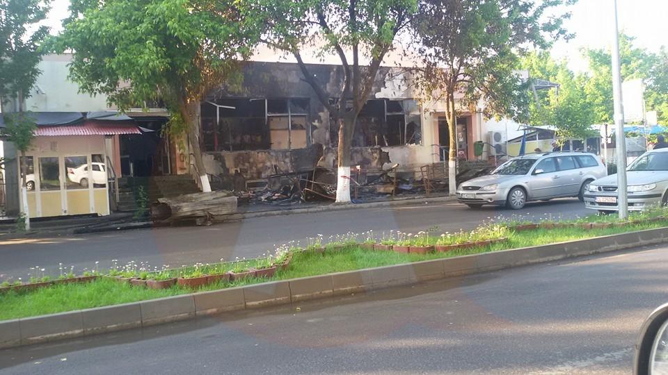 ISU Barbu-Știrbei Călărași/ Incendiu de proporții, la Complexul Bazar Big
