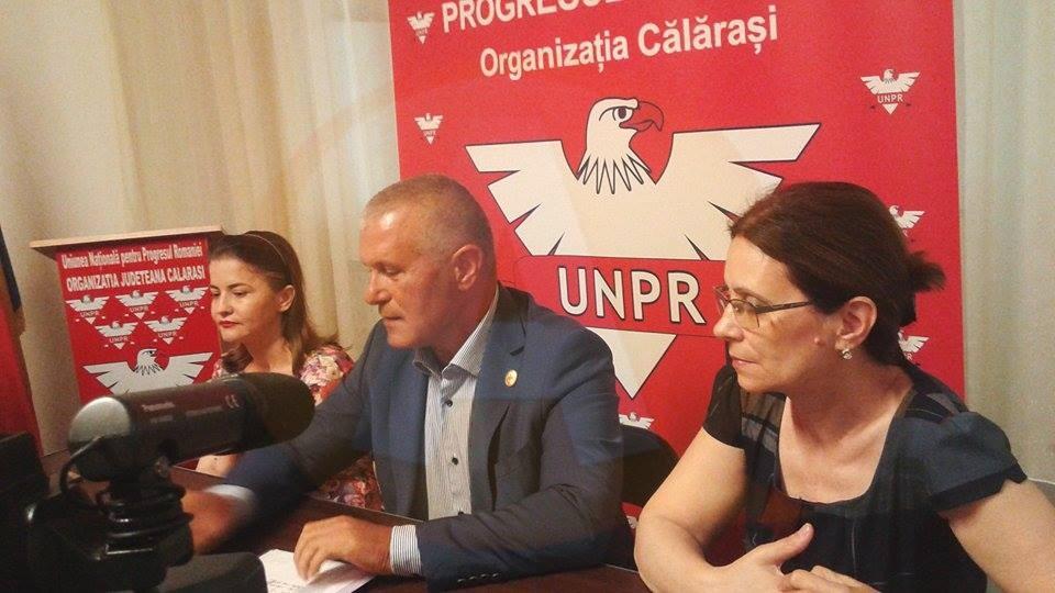 Dep. Aurel Niculae: PSD Călărași  nu a dorit o colaborare cu UNPR, la alegerile locale