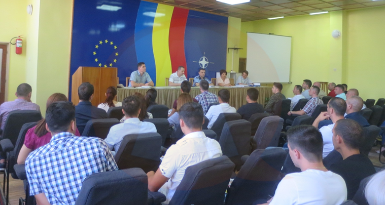 42 de agenţi de poliţie au intrat în rândurile poliţiştilor, de la IPJ Călăraşi