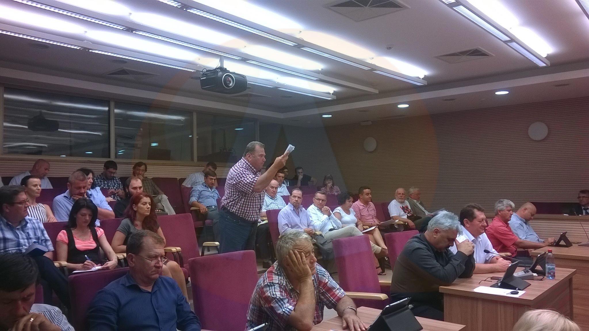 Consiliul Județean Călărași/ PNL și PSD, ceartă pe bani publici