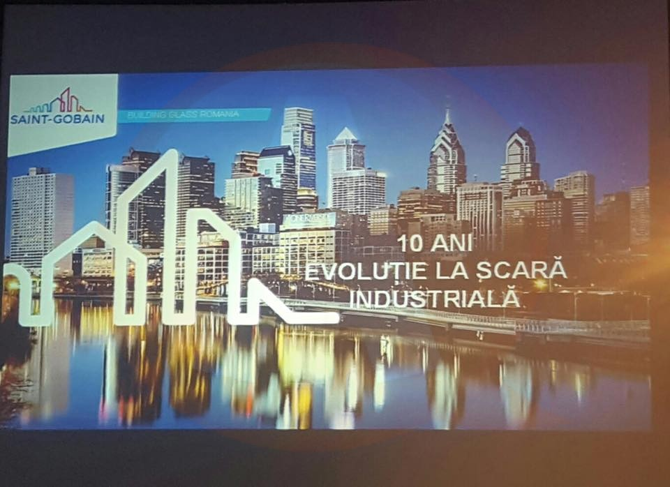 Saint-Gobain Glass Călărași/Bilanţ după 10 ani: Investiţii de 180 de milioane euro şi afaceri în creştere